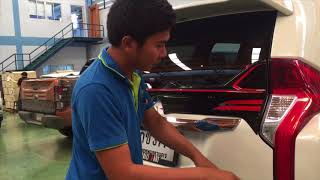 Middle Spoiler with LED for PAJERO SPORT 2015