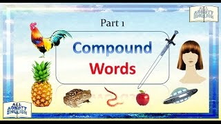 Animated English Lesson: Compound Words
