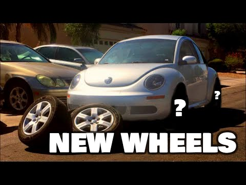 "PUTTING 20"" FORGED WHEELS ON THE VW BEETLE/BUG"