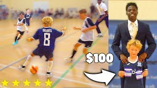 Video I Donated a KID Footballer $100 Football Boots If His Team WINS Soccer Match MP3, 3GP, MP4, WEBM, AVI, FLV Agustus 2019