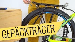 Mountainbike Gepäckträger Montage - einfach & schnell - Fahrrad.org
