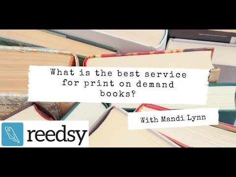 What Is The Best Service For Print On Demand Books