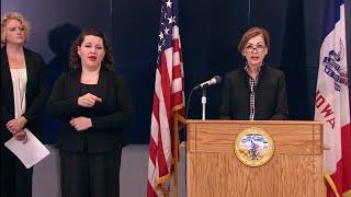 RAW: Gov. Reynolds provides update on COVID-19 in Iowa