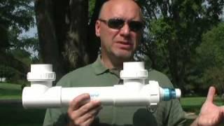 UV Light For Treating Green Water Algae In Ponds