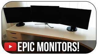 Building a DREAM Gaming Setup - ULTIMATE MONITOR! (Episode 7)
