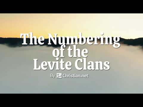 Numbers 4:34 – 49: The Numbering of the Levite Clans | Bible Story (2020)