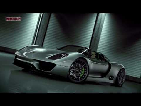 Geneva Motor Show 2010: Porsche 918 Spyder