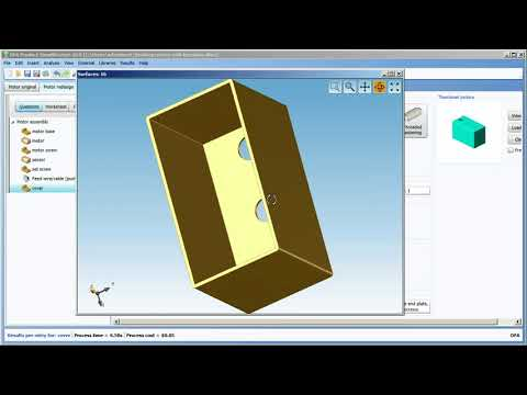 Import a CAD model into DFA