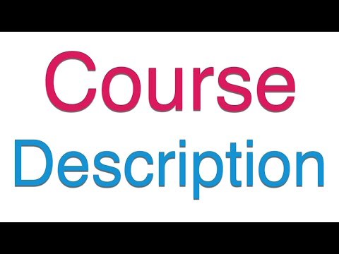 How to Add Course Description and Logo on Moodle - YouTube