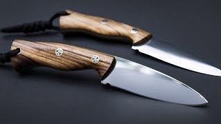 Making a hunting knife using hobbyist tools