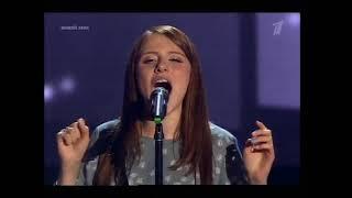 Девушка родом из Хабаровска так обалденно спела по французски на голос 6 слепые прослушивания
