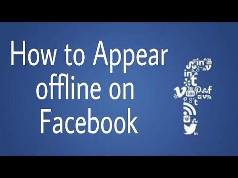 How to Appear offline on Facebook messenger