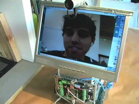 DIY Telepresence Robot Lets You Work At Work In Your Undies