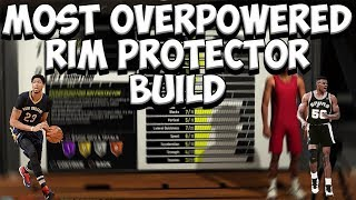 NEW OVERPOWERED RIM PROTECTOR BUILD ON NBA 2K19 | BEST CENTER AND POWER FOWARD BUILD ON NBA 2K19