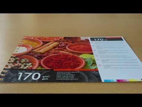 Bilderdruckpapier glänzend 170 g/m²
