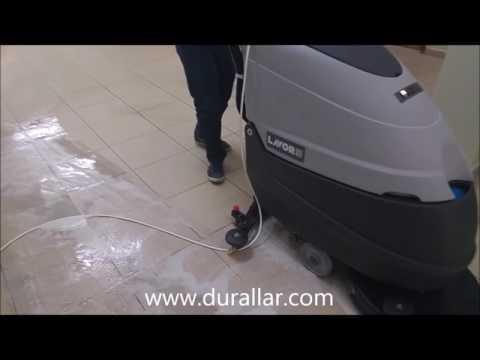 Lavor 50 E Okul Koridor Temizleme ve Yer Yıkama Makinası