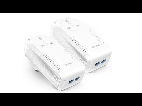 Tenda P1002P KIT AV1000 2-Port Gigabit Powerline Adapter Review