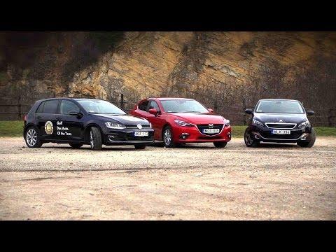 VW Golf 7 / Mazda 3 / Peugeot 308 letöltés