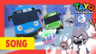 Tayo Tooth Brushing Song l Nursery Rhymes l Healthy Habit Song l Tayo the Little Bus