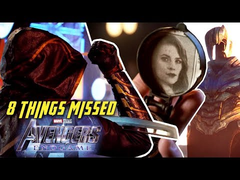 8 Things Missed - Avengers: Endgame