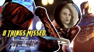 AVENGERS: ENDGAME Trailer - 8 Things Missed (2019) | Kholo.pk