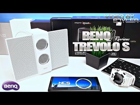 BenQ treVolo S | Review & Sound Test | Bluetooth/USB Portable Electrostatic Speaker