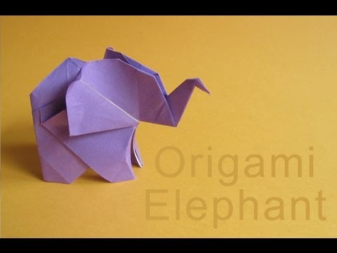 31 Origami Elephants to Fold for the #ElephantOrigamiChallenge | 360x480