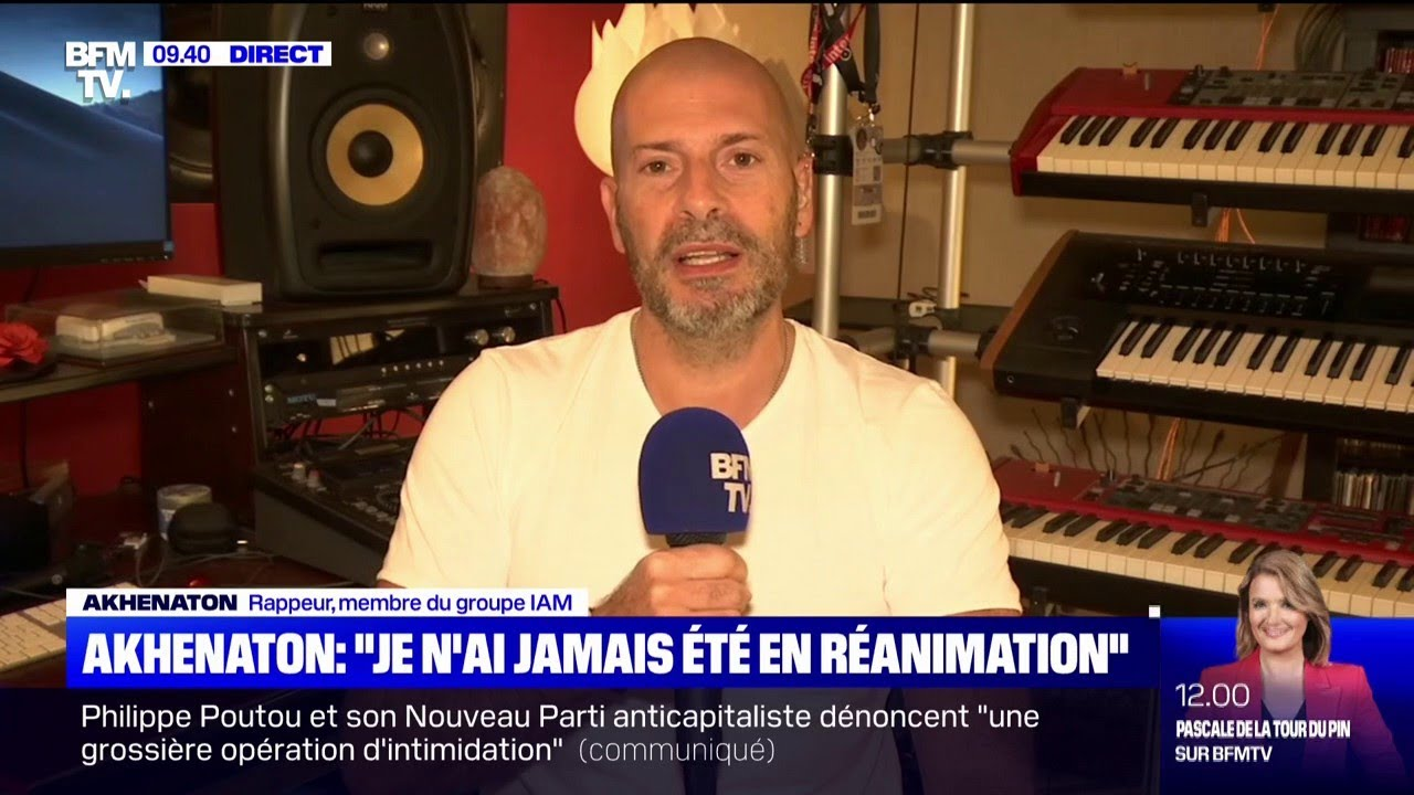 """""""On est contre le pass sanitaire"""": Akhenaton est l'invité du Live Toussaint"""