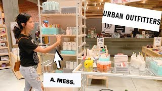 I TRIED MAKEUP FROM URBAN OUTFITTERS ... and it was interesting....