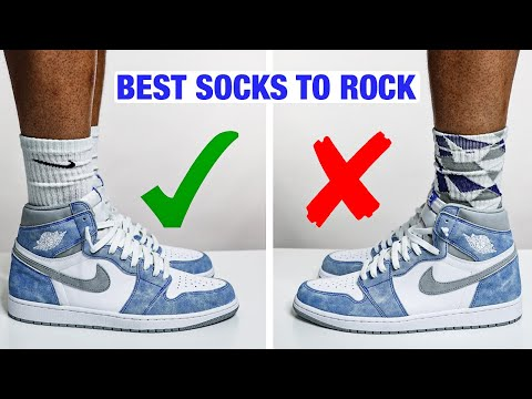 How To Style Socks With Air Jordan 1 Sneakers