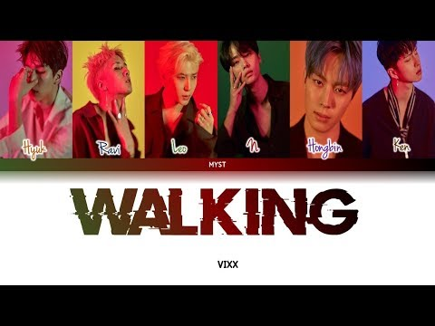 VIXX (빅스) - WALKING [걷고있다] (Color Coded Lyrics) Sub Indo | Lirik Terjemahan