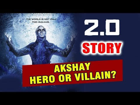 ROBOT 2.0 STORY Revealed | Akshay Kumar Gives HINT | HERO Or VILLAIN?