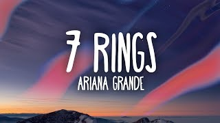 Ariana Grande   7 Rings (Lyrics)