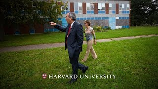 Harvard's new president Larry Bacow returns to his roots