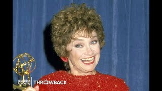 Estelle Getty Wins the Emmy for 'The Golden Girls'