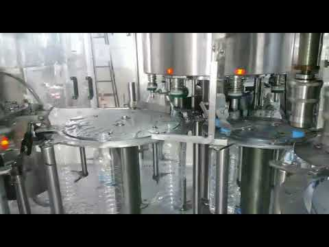 40 BPM Pet Bottle Filling Machine