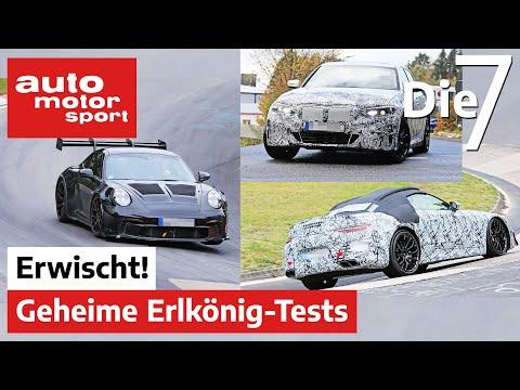 Elektro-3er, 911 GT3 RS und Mercedes SL: Auf diese Autos dürfen wir uns freuen |auto motor und sport