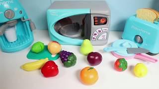Toy Cutting Fruits Velcro Cooking Playset Kitchen Spielzeug Schneiden von Obst Klett Toy Food