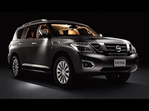 The All New 2015 Nissan Patrol(ALL MODE 4X4 AND ENGINE)