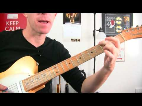 Walk This Way - Aerosmith ★ Electric Guitar Intro Riff Lesson - Rock Guitar Instructional Tutorial