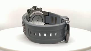 Invicta Bolt Dial Negro Crono Silicona Gris 25467 a610c1967353