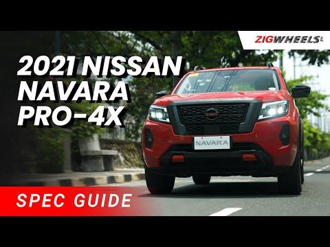 2021 Nissan Navara Pro-4X Spec Guide   Zigwheels.Ph