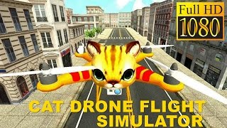 Cat Drone Flight Simulator Game Review 1080P Official Parking Games Simulation 2016