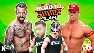Summer of Punk (History Changed!) Road to SummerSlam Tower Level 5 | K-CITY GAMING