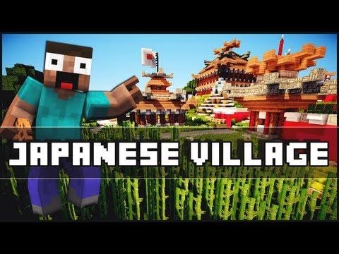 sakurana japanese village keralis showcased minecraft project