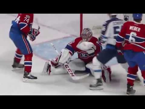 Winnipeg Jets vs Montreal Canadiens - February 18, 2017 | Game Highlights | NHL 2016/17