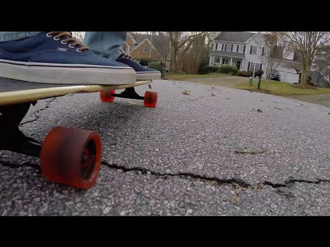 Quest Super Cruiser Longboard Unboxing & Review