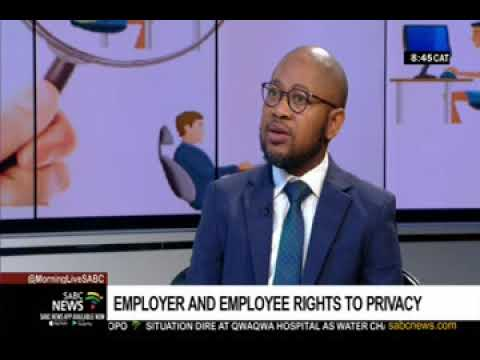 Employer vs employee's right to privacy