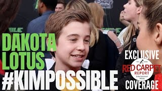 Dakota Lotus interviewed at #DisneyChannel #KimPossible Movie Premiere, Watch Tonight #CallMeBeepMe