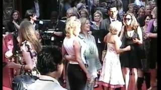 ABBA-AGNETHA,ANNI-FRID,BJÖRN & BENNY at the MAMMA MIA PREMIERE in STOCKHOLM
